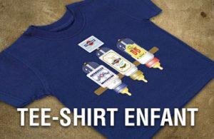 banniere tee-shirt enfant