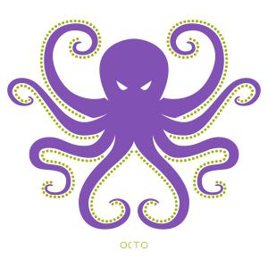 tee-shirt octopus