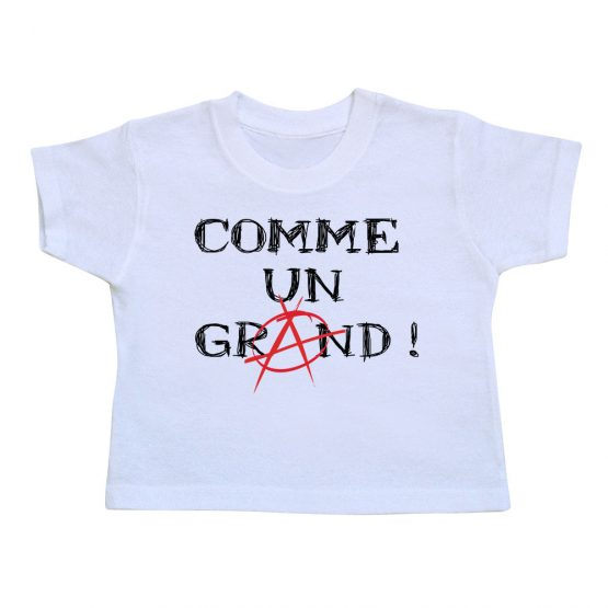 T-shirt enfant anarchie