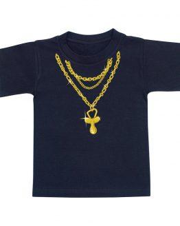 t-shirt-enfant-bling-bling-noir