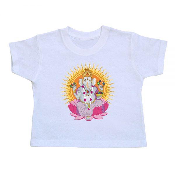 t-shirt-enfant-ganesh-blanc
