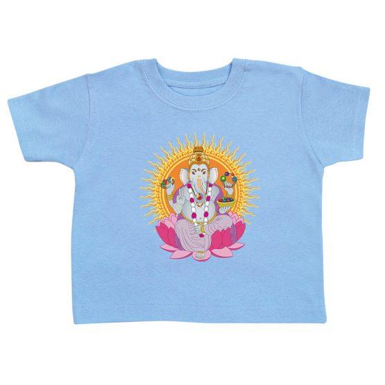 t-shirt-enfant-ganesh-bleu