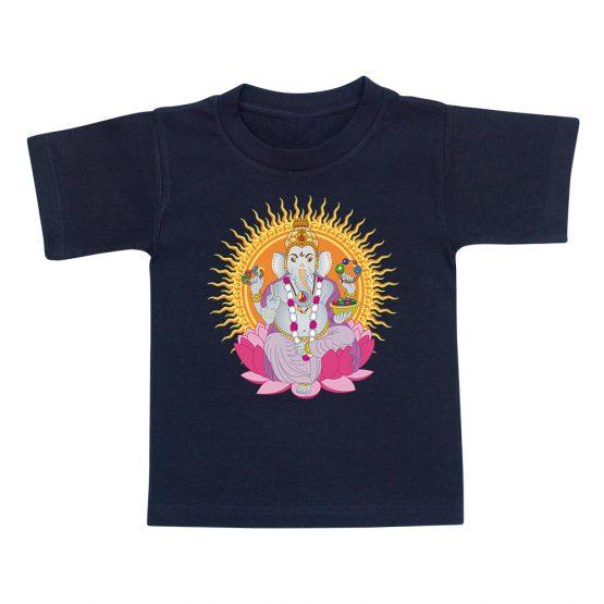 t-shirt-enfant-ganesh-noir