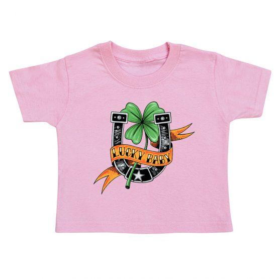 t-shirt-enfant-lucky-baby-rose