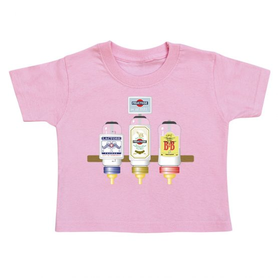 t-shirt-enfant-minibar-rose