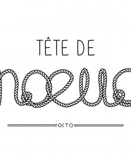 tee-shirt tete-de-noeud
