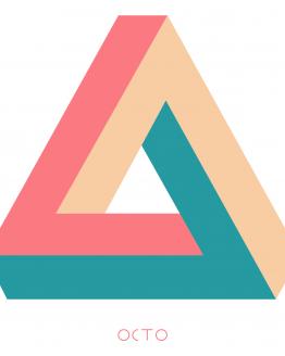tee-shirt octo triangle