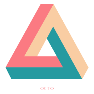 tee-shirt octo triangle