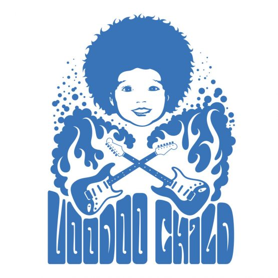 tee-shirt voodoo child